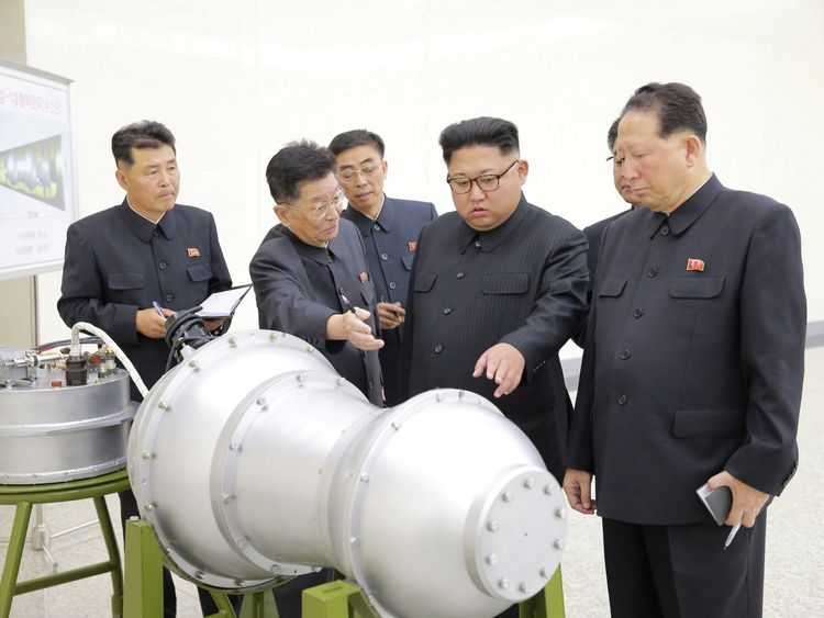 North Korea missiles 'soon able to reach UK'