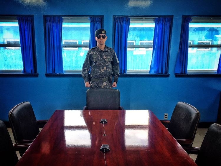 The meeting will take place at the DMZ on the border