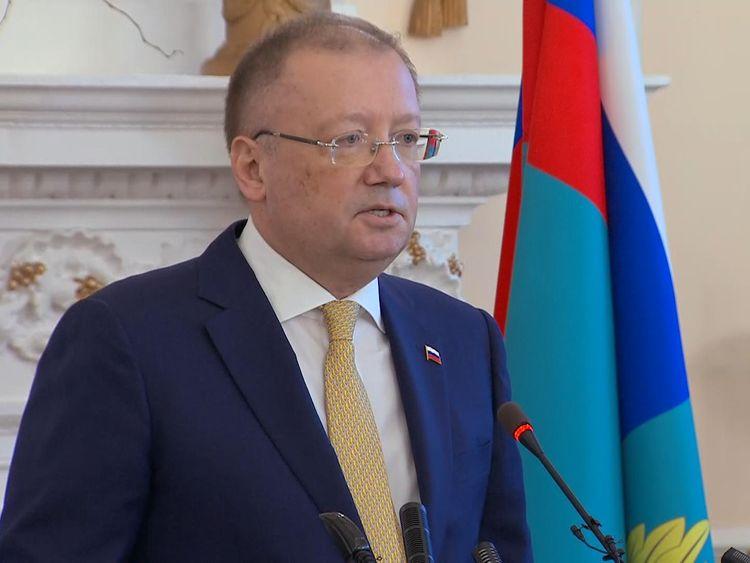 Russia's Ambassador to the UK, Alexander Yakovenko