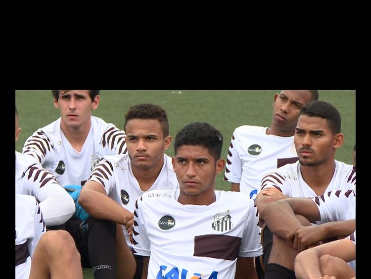 Santos youth players