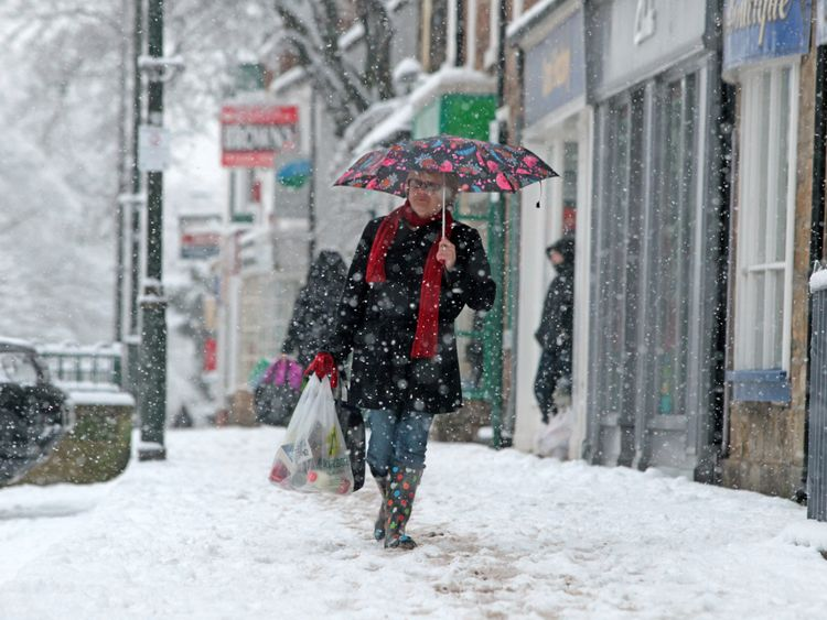 The cold weather of February and March took its toll on the high street and construction