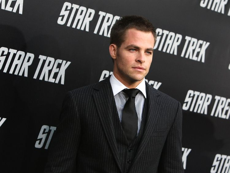 Chris Pine has played James T Kirk since the 2009 reboot