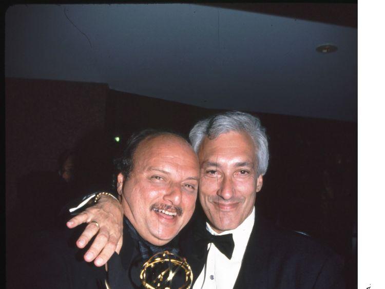Dennis Franz with Steven Bochco