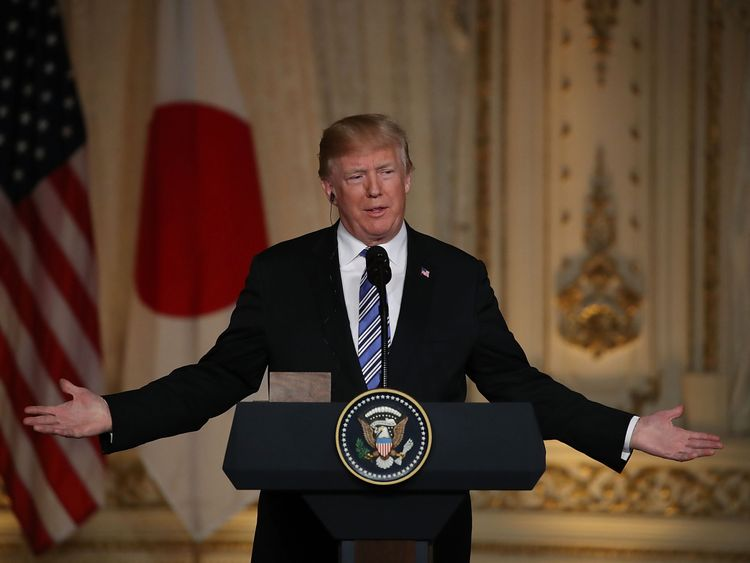 Donald Trump is considering the pardon