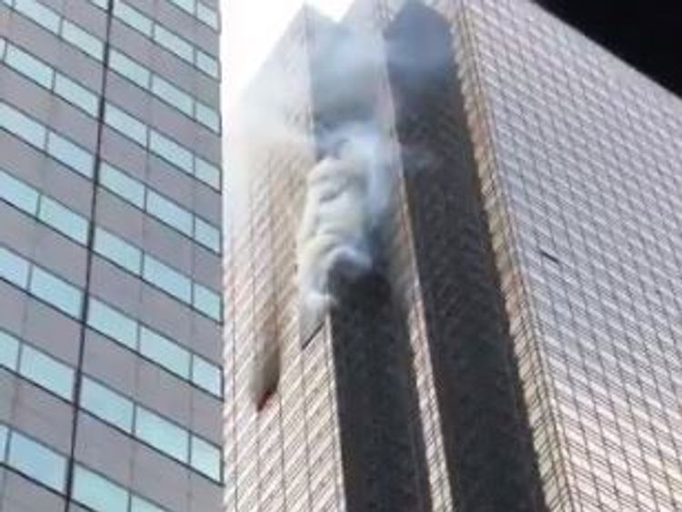 One dead after fire breaks out at Trump Tower apartment