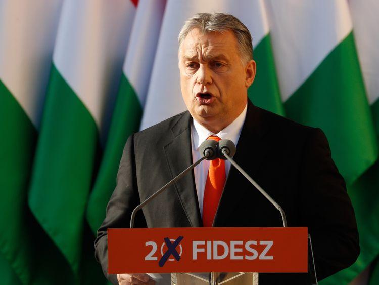 Hungary's anti-migrant PM Viktor Orban wins election
