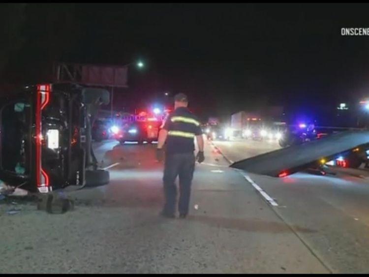 Will Ferrell injured in crash on LA freeway