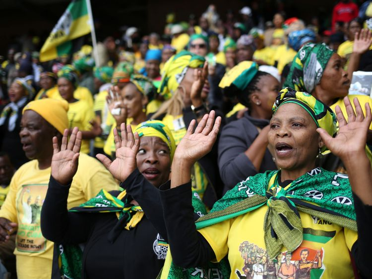 Mandela was regarded as the 'Mother of the Nation' by many South Africans