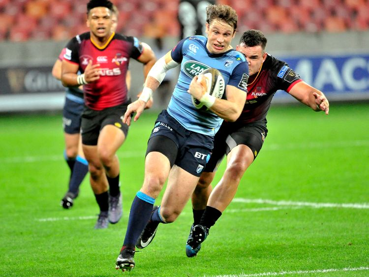 Guinness PRO14, Nelson Mandela Bay, Port Elizabeth, South Africa 14/4/2018.Southern Kings vs Cardiff Blues.Blaine Scully of Cardiff.Mandatory Credit ..INPHO/BackPagePix/Deryck Foster