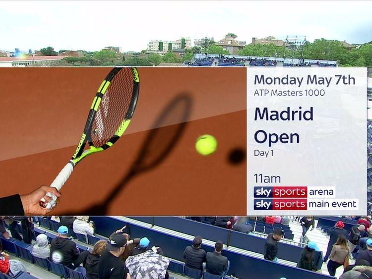 Madrid Open Tennis