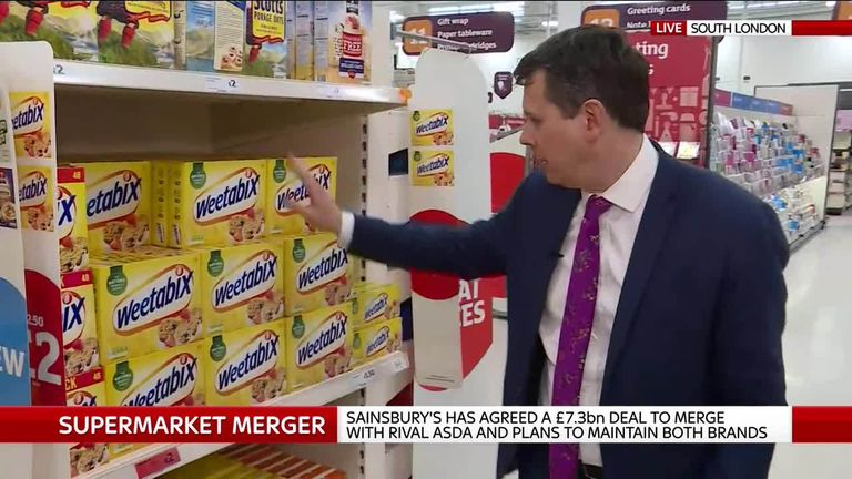 Adam Parsons on the Sainsbury's and Asda merger