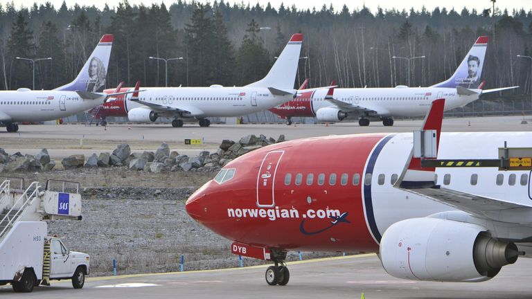 Norwegian Air carries more than 30 million passengers a year