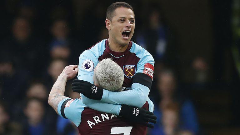Javier Hernandez Earns West Ham Prized Point At Chelsea