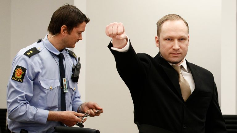 Vehvilainen was accused of a terror offence by allegedly possessing Anders Breivik's manifesto