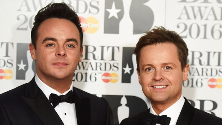 Ant and Dec have been TV partners for nearly 30 years