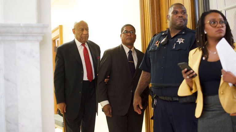 Cosby shouted at prosecutors after the verdict