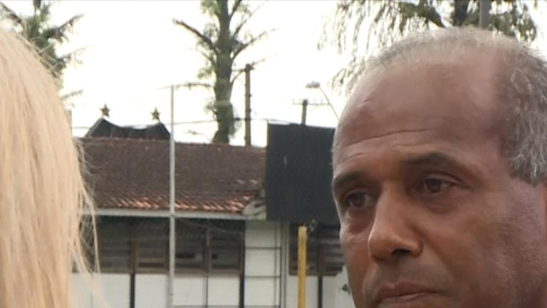 Former Palmeiras player Valter Camello was abused as a youth player