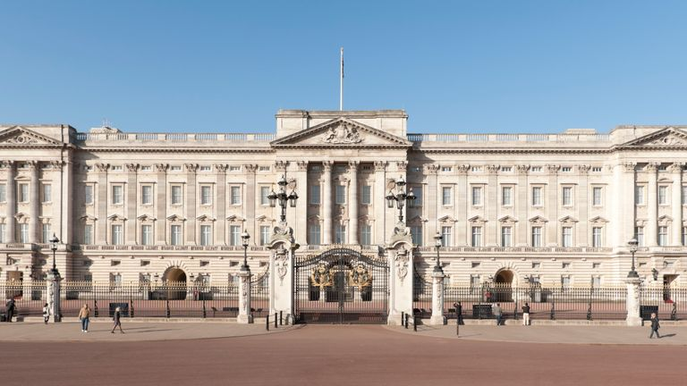The vehicle was stopped near Buckingham Palace