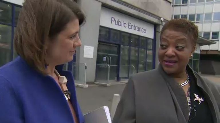 Sky's Laura Bundock spent the afternoon with Joan Thomas, one of the Windrush generation