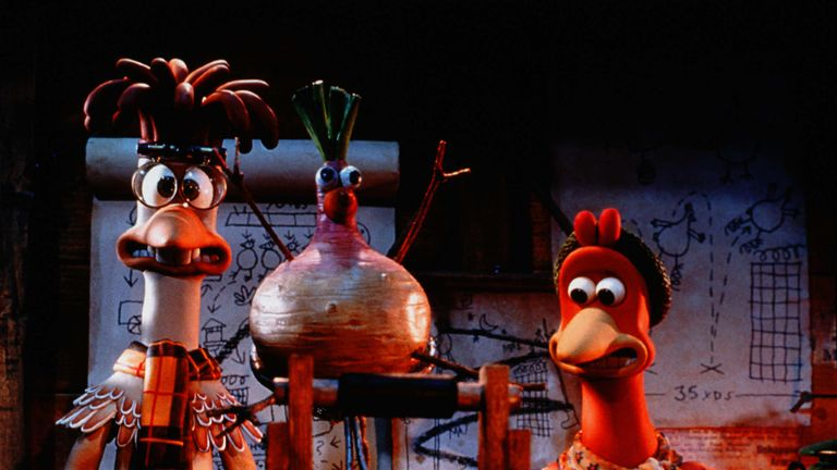 Chicken Run is the highest grossing stop-motion animation ever