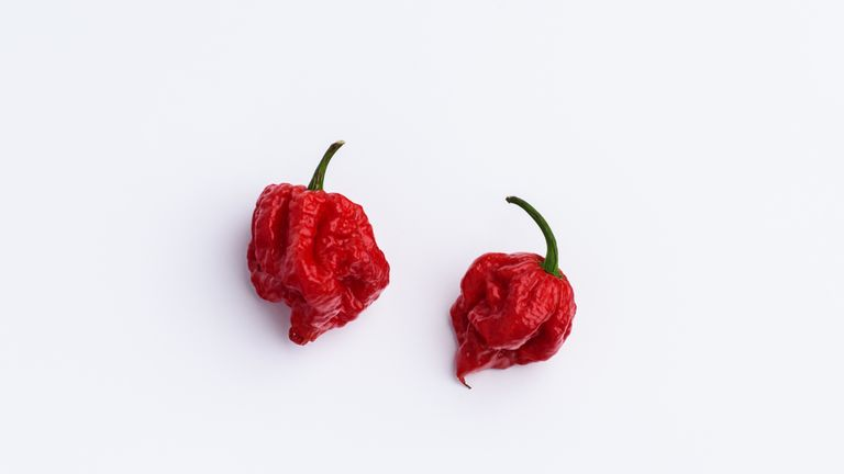 The Carolina reaper chilli left the man with severe headaches for five weeks