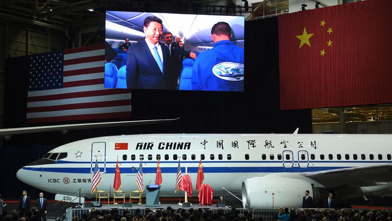 Chinese President Xi Jinping Visits Seattle, Washington