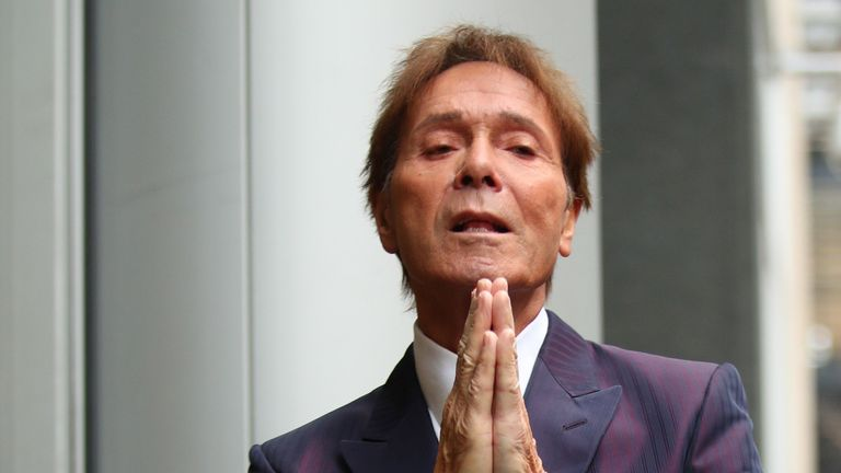 Image result for cliff richard shocked