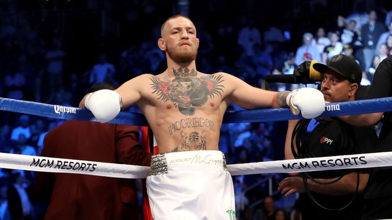 Conor McGregor has not fought for UFC since 2016