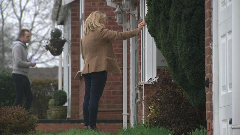 People knocking on doors as the Tories prepare for local elections in Dudley