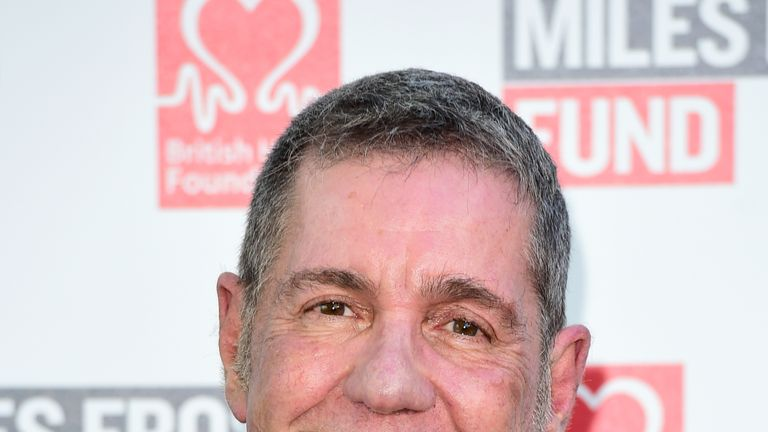 Dale Winton attending the Frost Summer Party Fundraiser, in 2016