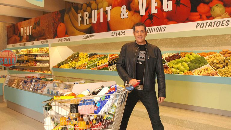 Dale Winton presented Supermarket Sweep, a popular ITV game show. Pic: Rex