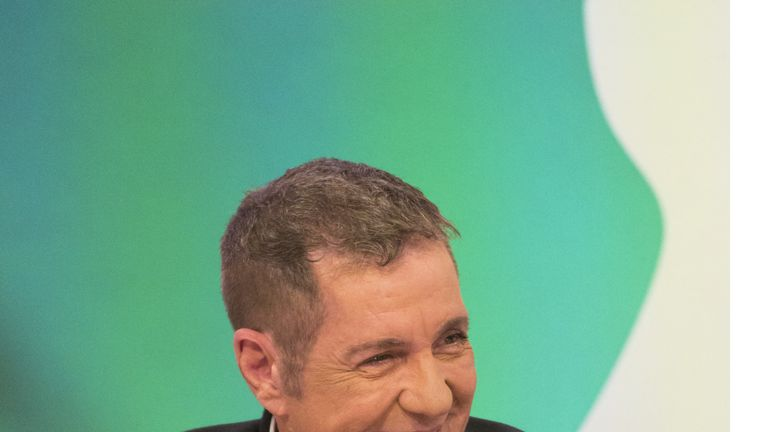 Dale Winton on Loose Women in 2016