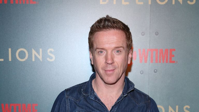 Damian Lewis has recently starred in the Sky Atlantic series Billions