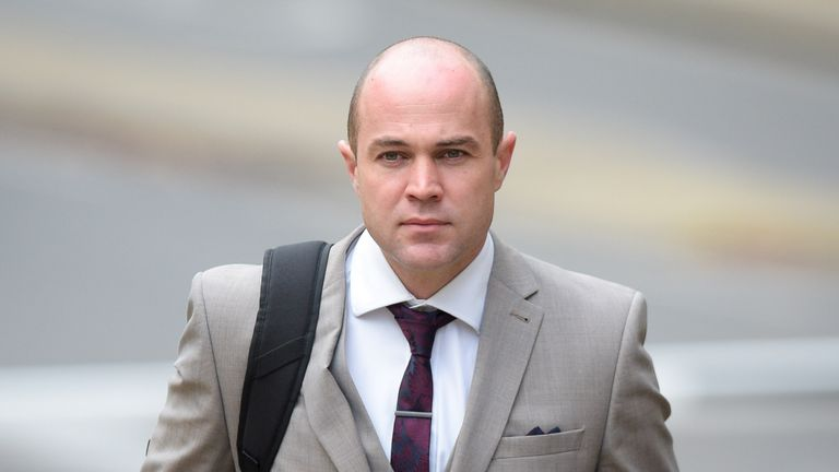File photo of Emile Cilliers, who faces two charges of attempted murder and a third count of damaging a gas fitting at Winchester Crown Court after being accused of attempting to murder his wife Victoria.