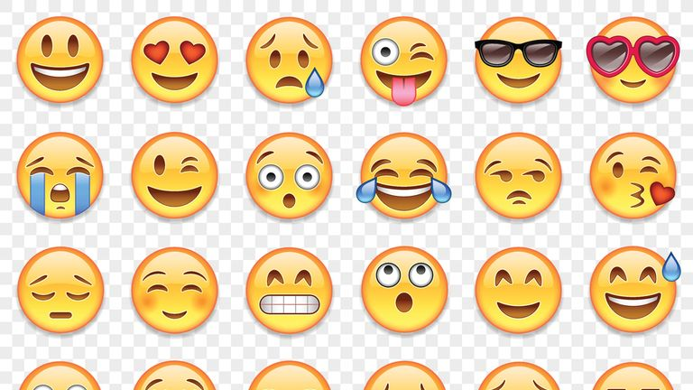 There are hundreds of emoji to choose from