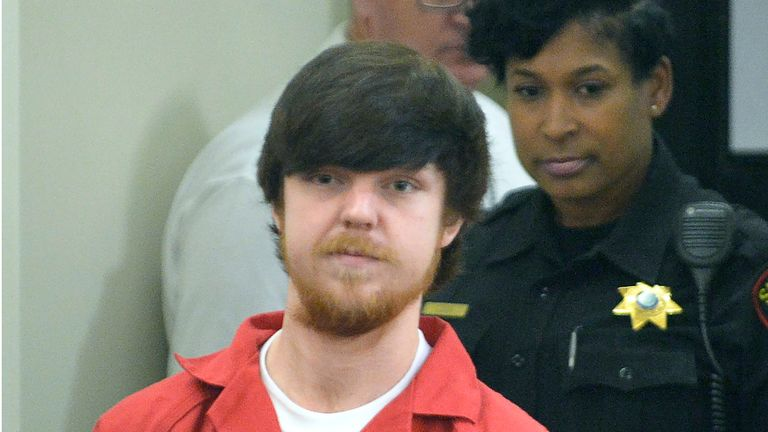 Ethan Couch in Fort Worth, Texas, on 13 April 2016.