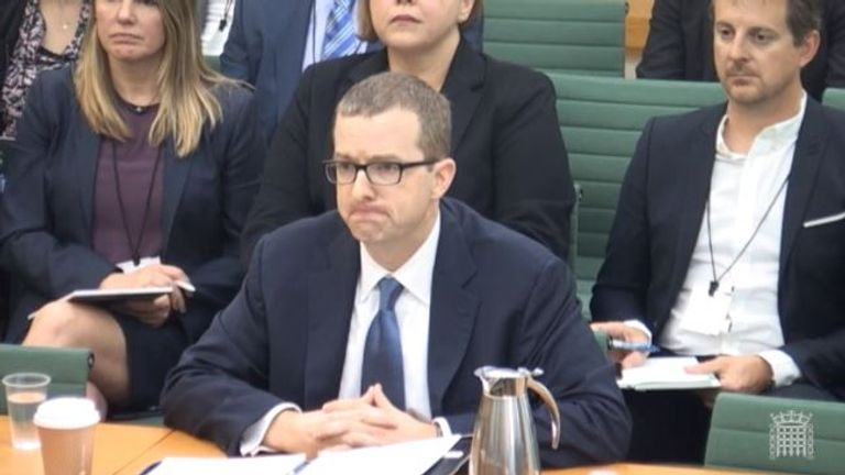Facebook chief technology officer Mike Schroepfer has been grilled by MPs