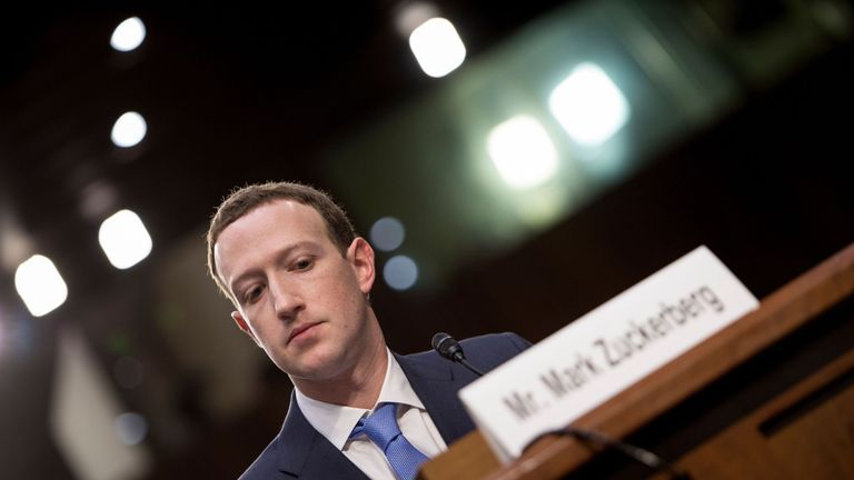 Facebook CEO Mark Zuckerberg admitted he had made mistakes