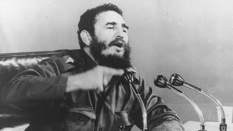 Fidel Castro in 1971