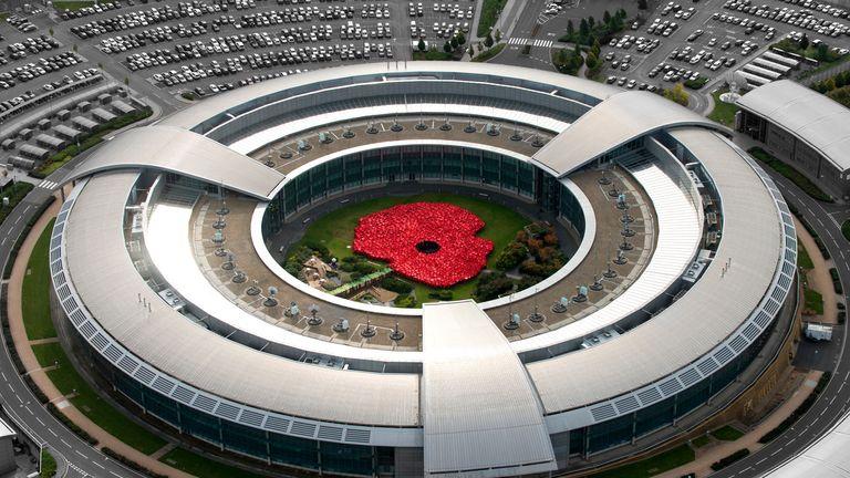Pic: GCHQ