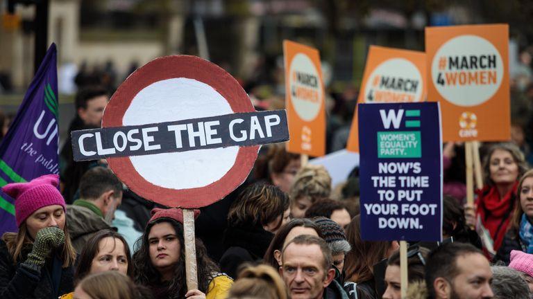 March4women in London