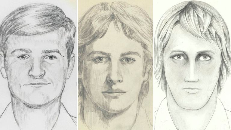 Over the years, the FBI issued sketches of the suspect. File pic