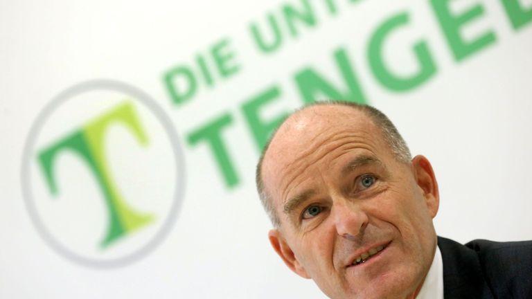 Karl-Erivan Haub, billionaire chief of Germany's Tengelmann retail group