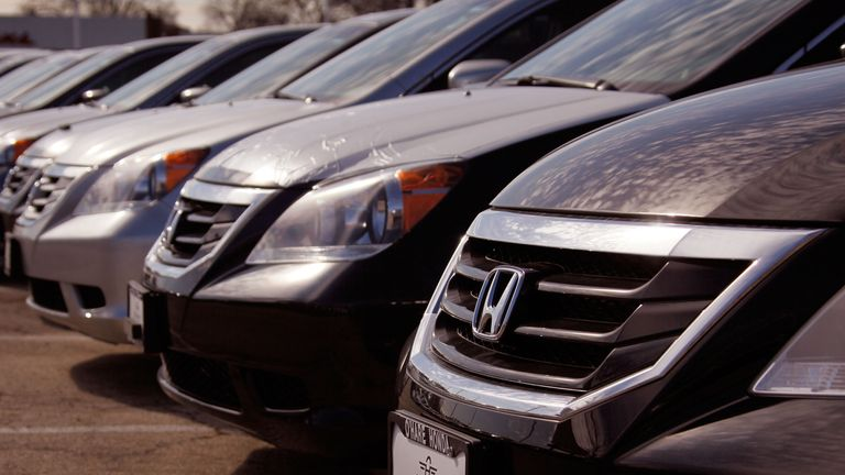 Honda said there is no record of seat recall in the vehicle