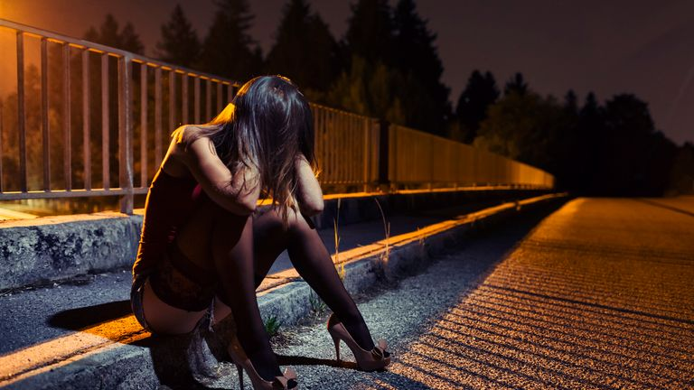 Women who are trafficked are often forced into prostitution. File Pic