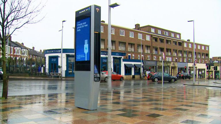 The 100th InLink was installed in Wandsworth, south-west London, in March.
