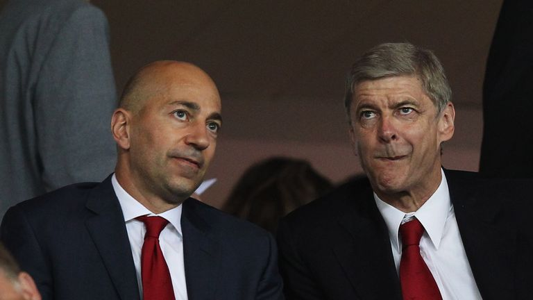 Arsenal chief executive Ivan Gazidis is tasked with finding a replacement for Arsene Wenger