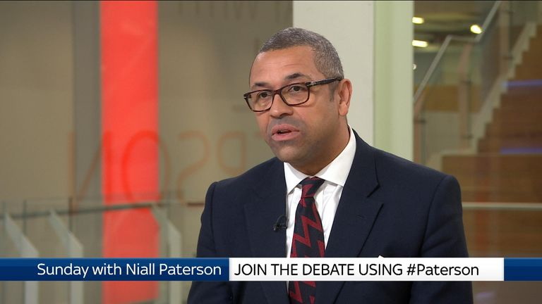 Conservative MP and deputy chair of the party James Cleverly