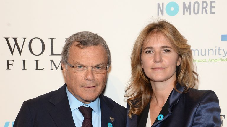 Sir Martin Sorrell (L) and Cristiana Falcone Sorrell attend the Joyful Heart Foundation Presents: The Joyful Revolution Gala 10th Anniversary Celebration at Cipriani, 42nd Street on May 29, 2014 in New York City.