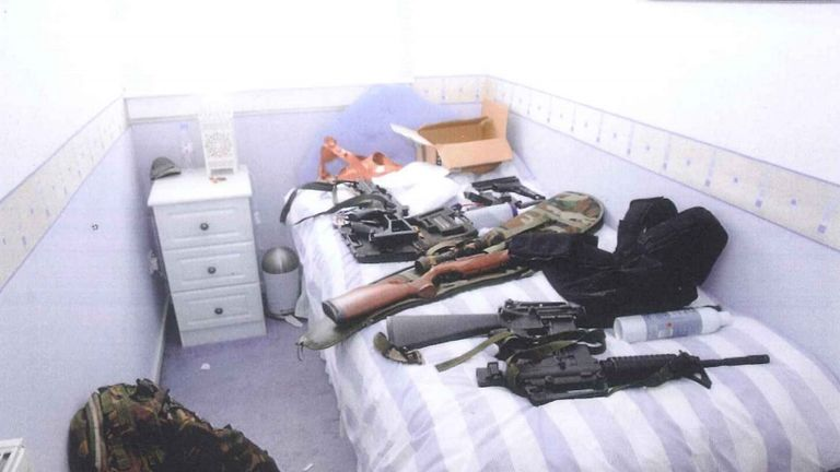 Martin Watt was found to have a large collection of guns including three sub machine guns